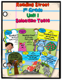 Reading Street First Grade UNIT 1 Selection Tests {6 Stories}
