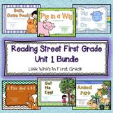 Reading Street 2013 First Grade Unit 1 Bundle