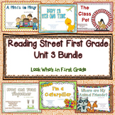 Reading Street First Grade Unit 3 Bundle