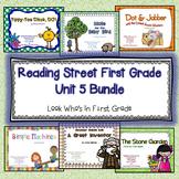 Reading Street First Grade Unit  5 Bundle