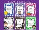 Reading Street, First Grade, Unit 5 Word Sorts