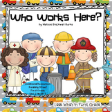 "Reading Street First Grade ""Who Works Here?"""