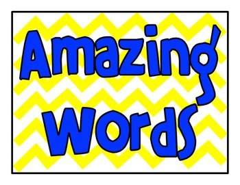 Reading Street First Grade Word Card MEGA pack! (Primary Colors and Large Cards)