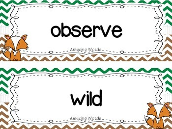 "Reading Street First Grade Word Cards FREEBIE  ""A Fox and a Kt"""