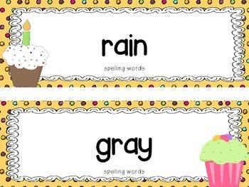 "Reading Street First Grade Word Cards FREEBIE  ""Mama's Birthday Present"""