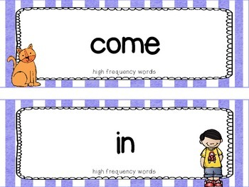 "Reading Street First Grade Word Cards FREEBIE  ""Sam, Come Back!"""