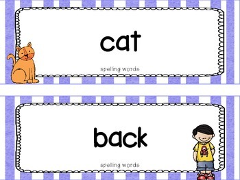 """Reading Street First Grade Word Cards FREEBIE  """"Sam, Come Back!"""""""