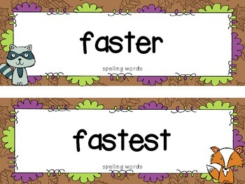 """Reading Street First Grade Word Cards FREEBIE  """"Where Are My Animal Friends?"""""""
