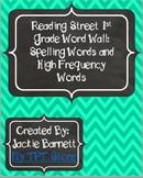 Reading Street First Grade Word Wall