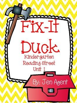 Fix-it Duck {D'Nealian Version}