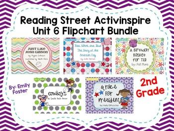 Reading Street Flipcharts Common Core Second Grade Unit 6 Weeks 1-5 BUNDLE!!