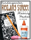 Kindergarten Reading Street Fluency Packet