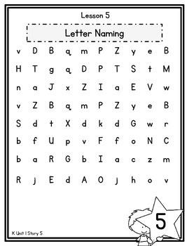 Kindergarten Reading Street Fluency Packet