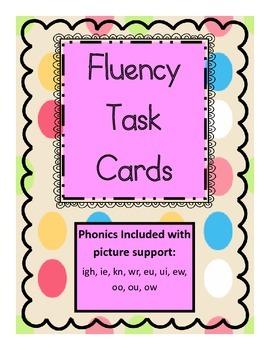 Fluency Task Cards {READING STREET-1ST GRADE}
