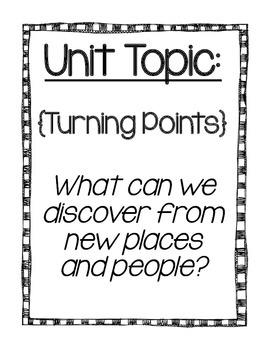 Reading Street Focus Board Posters: 4th Grade Unit 1 Week 1 {INK SAVERS}