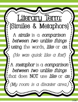 Reading Street Focus Board Posters: 4th Grade Unit 4 Weeks 1-5: {Green Stripes}