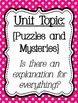 Reading Street Focus Board Posters: 4th Grade Unit 4 Weeks 1-5: {Pink}