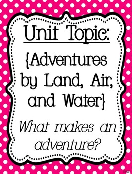 Reading Street Focus Board Posters: 4th Grade Unit 5 Weeks 1-5: {Pink}