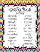 Reading Street Focus Board Posters: 4th Grade Unit 6 Weeks 1-5: {Chevron}