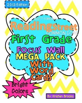 Reading Street Focus Wall BUNDLED MEGA Pack (First Grade)