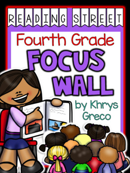 Reading Street Focus Wall - Fourth Grade - EDITABLE {Entire Year-Over 380 Pages}