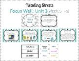 Reading Street Focus Wall- Fourth Grade- Unit 2