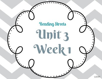 Reading Street Focus Wall- Fourth Grade- Unit 3