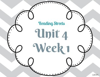 Reading Street Focus Wall- Fourth Grade- Unit 4