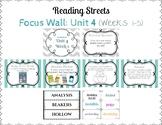 Reading Street Focus Wall- Fourth Grade- Unit 4