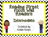 Reading Street Focus Wall Headers (Intermediate) - Yellow
