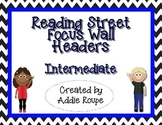 Reading Street Focus Wall Headers (Intermediate) - Blue