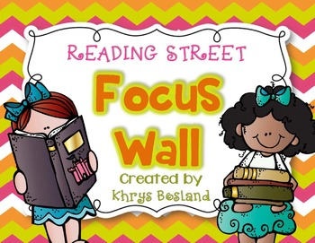 Reading Street Focus Wall - Kindergarten-EDITABLE {Entire Year - Over 350 Pages}