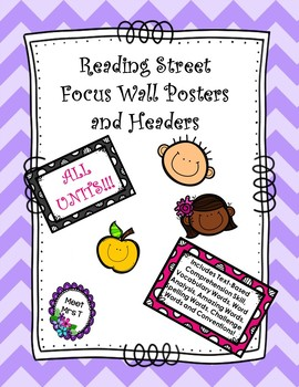 Reading Street Focus Wall Posters Grade Five All Units!