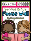 Reading Street Focus Wall - Second Grade-EDITABLE {Entire Year - Over 430 Pages}