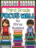 Reading Street Focus Wall - Third Grade-EDITABLE {Entire Year - Over 350 Pages}