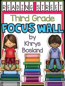 Reading Street Focus Wall - Third Grade-EDITABLE {Entire Y