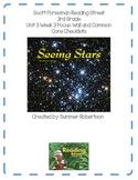 Reading Street Focus Wall U3W3 Seeing Stars
