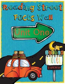 Reading Street Focus Wall - Unit 1 (Third Grade)
