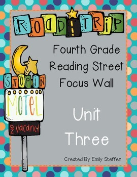 Reading Street Focus Wall - Unit 3 (Fourth Grade)
