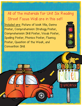 Reading Street Focus Wall - Unit 6 (Fourth Grade)