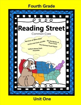 Reading Street Fourth Grade Unit One (Common Core)