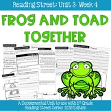 Reading Street- Frog and Toad Together Supplemental Unit {Unit 3: Week 4}