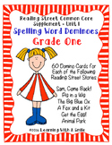 Reading Street GRADE 1 Dominoes Spelling Word Games UNIT 1