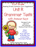 Reading Street GRADE 1 Supplement -  Grammar Tests UNIT R