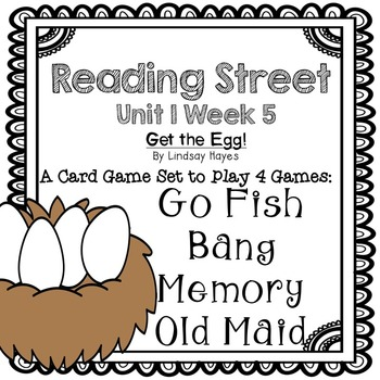 Reading Street: Get the Egg! 4-in-1 Spelling and HFW Games