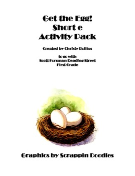 Reading Street Get the Egg Activity Pack