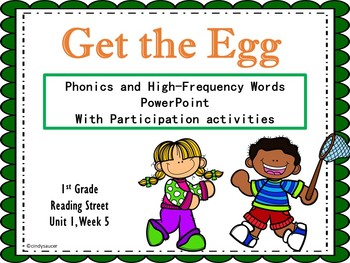 1st Grade Interactive PowerPoint, Get the Egg