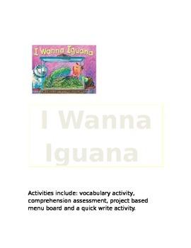 Reading Street Gr. 3- I Wanna Iguana