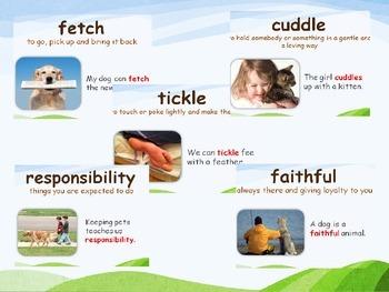 Reading Street Grade 1- Amazing Words Unit 1 (samples)