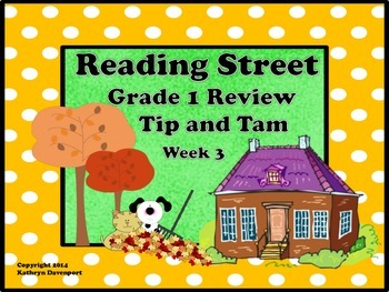 Reading Street Grade 1 Review Tip and Tam Week 3